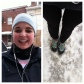 Running in the snow on Sunday 2/15!