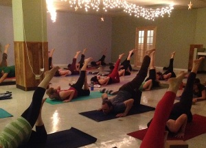 My old yoga studio in Ohio: Inhale Yoga!