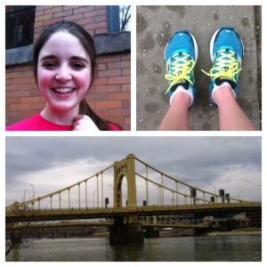 A perfect overcast run down the Three Rivers Heritage Trail!